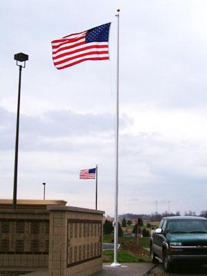 Monument flag