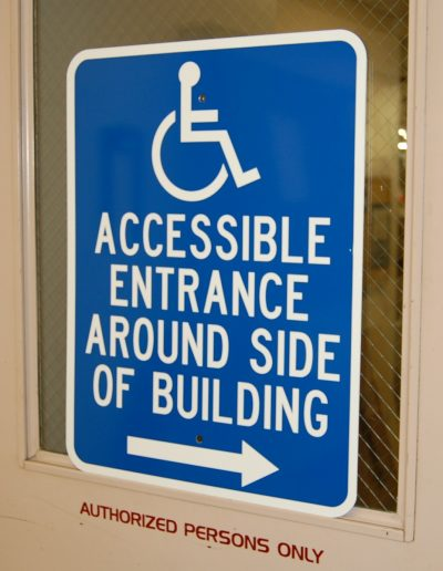 accessable signs